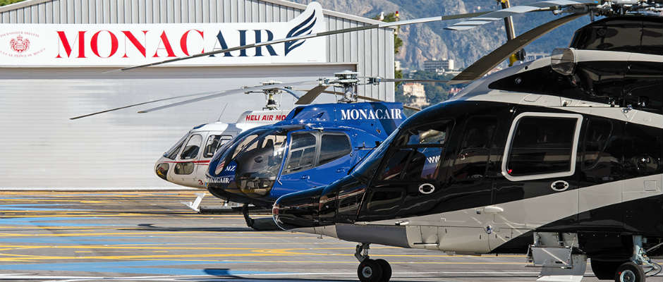Helicopter from Nice to Monaco