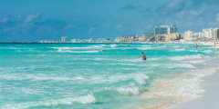 How to get to and from Cancun International Airport in Mexico?