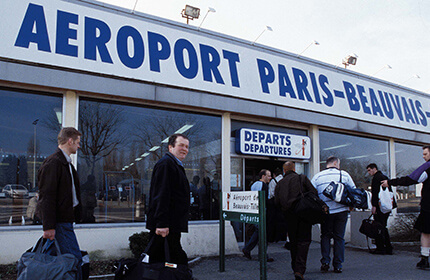 how to get to bva airport from paris