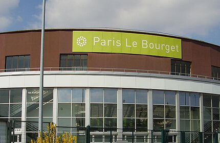 Paris airport taxi from Le Bourget