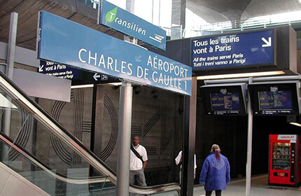 Charles De Gaulle airport transfer
