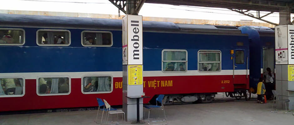 Train from Ho Chi Minh to Mui Ne
