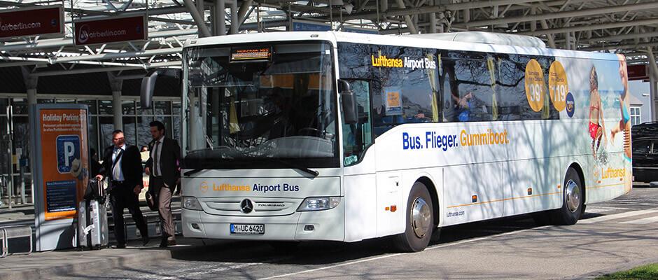 d2d02f2f5e22b8 How to get from Munich Airport to city centre  Bus